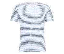 T-Shirt 'cidevin' blau / weiß