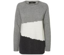 Pullover anthrazit / hellgrau / weiß