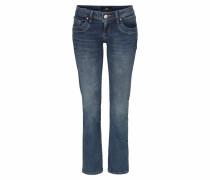 'Valerie' Bootcut-Jeans blau