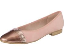 Klassische Ballerinas pink