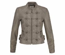 Lederjacke 'uniform Biker' khaki