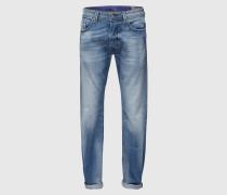 'Larkee' Jeans Regular Fit 853P hellblau
