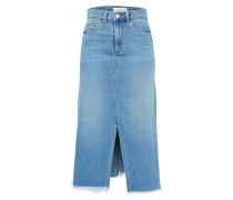 Jeansrock 'gulip' blue denim