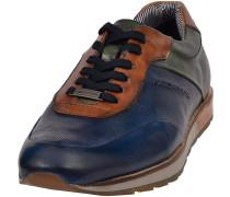 Sneakers blau / braun