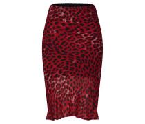 Rock 'leopard' rot / schwarz