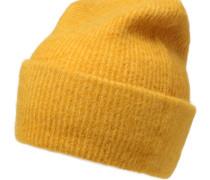 Strickmütze 'Josefine' gelb