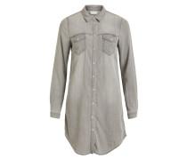 Kleid grey denim