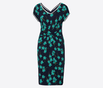 Kleid nachtblau / grün