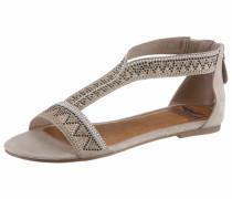 Sandale hellgrau