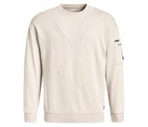 Sweatshirt 'tangent' creme