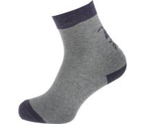 Socken grau / schwarz