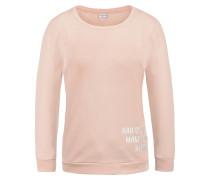 Sweatshirt 'Luisa' rosa / weiß