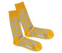 Socken 'Sun Radiation' gelb