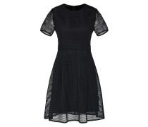 Kleid mit blickdichtem Futter schwarz
