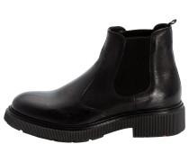 Chelsea Boots im Used-Finish schwarz