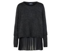 Pullover 'objbell' schwarz