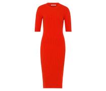 Kleid Knit Shift Dress neonrot