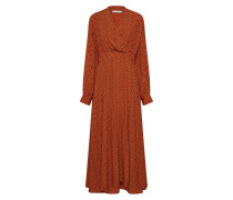 Kleid 'Spotia' braun