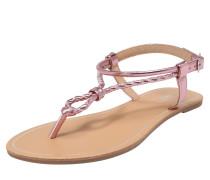 Sandale 'Margit' hellbeige / pink