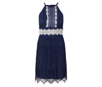 Kleid 'brigit Dress' creme / navy / schwarz