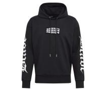 Sweatshirt 's-Alby-Hood-Y2' schwarz / weiß