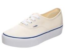 Authentic Platform 2.0 Sneaker Damen beige