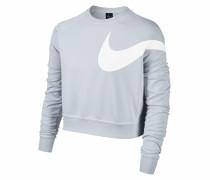 Sweatshirt hellblau / weiß