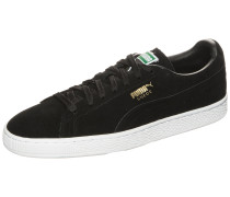 Sneaker 'Suede Classic+' schwarz / weiß