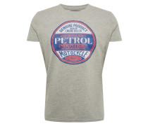 T-Shirt hellgrau / mischfarben