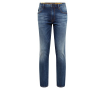 Jeans 'daman Straight' blue denim