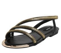 Sandale 'khloi' schwarz