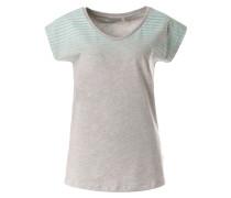 Shirt 'Nola' graumeliert / mint