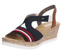 Sandale nachtblau / braun