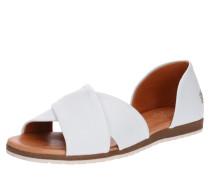 Sandale 'Chiusi' beige / weiß