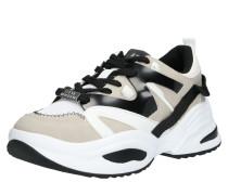 Sneaker 'fay' beige / grau / weiß