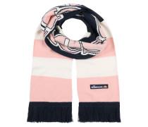 Schal 'rosan' navy / pink
