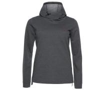 Sweatshirt dunkelgrau / dunkellila