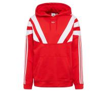Sweatshirt 'blnt 96' rot / weiß