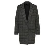 Mantel 'Ravna' grau / schwarz