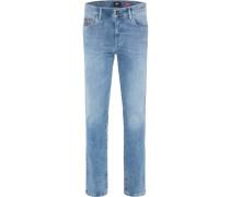Jeans 'rando - RED Edition' blue denim