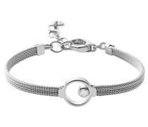 Armband mit Glasstein 'Elin' silber