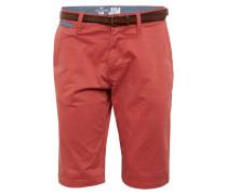 Shorts 'solid Jim' pastellrot