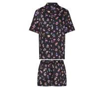 Pyjama beere / schwarz