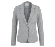 Sweat-Blazer 'Kate' graumeliert