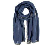 Schal 'Marta' blau / grau