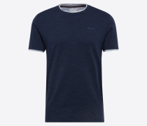 T-Shirt 'cn 2in1 mel ss' navy