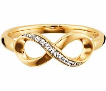 Fingerring 'Infinity' gold