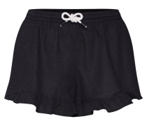 Shorts 'frill Shorts' schwarz