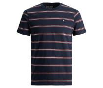 T-Shirt blau / azur / rot