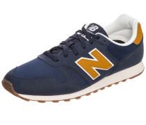 Sneaker dunkelblau / goldgelb / weiß